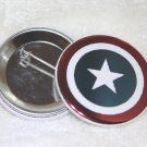 Capitain America Shield Foil Button