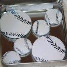 Baseball Foil Magnet Set