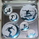 Surfer Foil Magnet Set