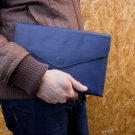 Blue tablet wallet for Ipad Samsung Tablet case