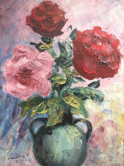 """Oil Painting �Love�Fine Art Oil Painting-Size: 12"""" x  8"""" (30 cm x 20 cm)"""