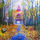 """Oil Painting — Romance—Fine Art Oil Painting-Size: 20"""" x  24""""(50 cm x 60 cm)"""