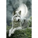 #GT582  Home Decor DIY Rhinestone Diamond painting Wolf 3D cross stitch diamond embroidery
