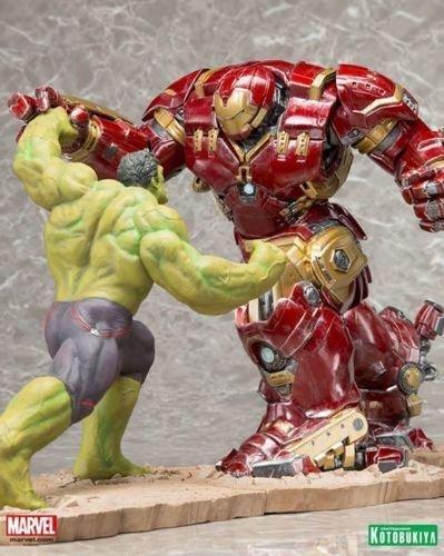 HULKBUSTER IRON MAN VS HULK Age of Ultron ArtFX+ Set of 2 Avengers