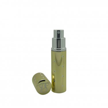 Pocket Scents Gold Star style 5ml refillable perfume travel atomisers boxed
