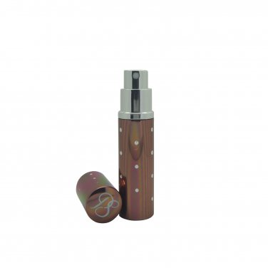 Pocket Scents star style 5ml refillable perfume travel atomisers boxed (Bronze)