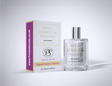 Pocket Scents Wild Berries & Praline 50ml EDP Women's Fragrance