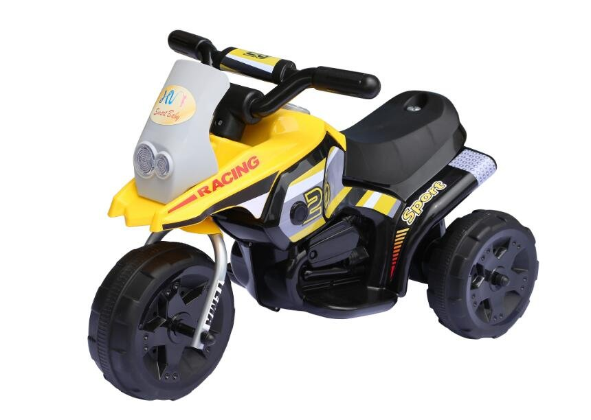 Children�s Yellow Ride on Electric Scooter 6v