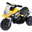 Children's Yellow Ride on Electric Scooter 6v