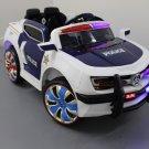Kids Electric Ride On Police Car 12V
