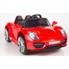 Kids Electric Car Porsche Style 12v Red