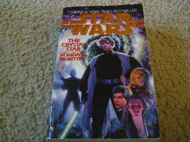 Star Wars The Crystal Star written by Vonda N. McIntyre