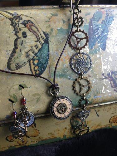 Steampunk 3 piece set