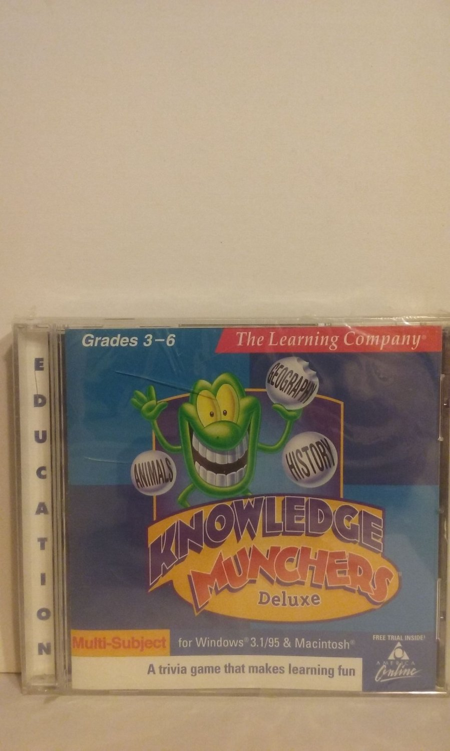 Knowledge Munchers Deluxe NEW (PC/Mac)