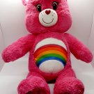 Care Bears Pink Rainbow Cheer Bear Build A Bear