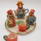 Miniature Tea Set: Harvest Mice