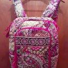 Vera Bradey Pink Paisley Campus Backpack