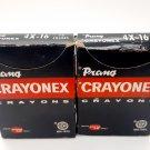 Vintage Prang Crayonex Crayon Boxes