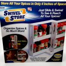 Swivel Store Storage System (Spice Rack, Craft Storage, Medicine Drawer, Etc.)