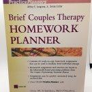Brief Couples Therapy Homework Planner