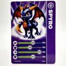 Skylanders Spyro's Adventure Spyro Figure and Card