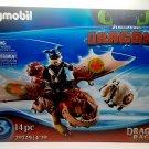 Rare Playmobil How to Train Your Dragon Racing: Fishlegs and Meatlug 70729