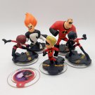 Disney Infinity The Incredibles Figures and Power Disc Lot