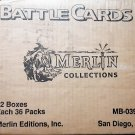 Merlin Collection Battle Cards Sealed Case of Booster Boxes