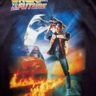 Boys BACK TO THE FUTURE T shirt KIDS BOYS SIZE L LARGE Black Color T-Shirt NEW
