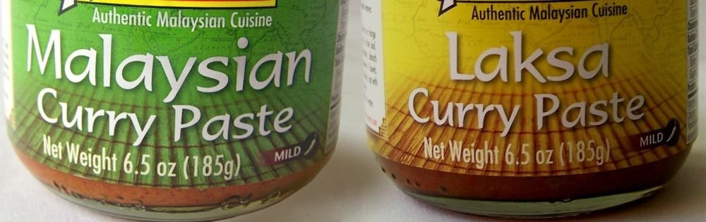 Malaysian & Laksa CURRY PASTE 2x6.5 oz NO Artificial Colors Preservatives or MSG
