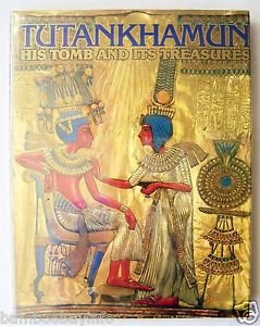 TUTANKHAMUN : His Tomb and Its Treasures by I.E.S. Edwards 1977 w/ mylar jacket