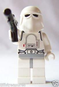 LEGO GALACTIC EMPIRE Star Wars SNOWTROOPER Minifigure 8084 w/ SHORT BLASTER LkNw