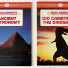 Lot 4 ISAAC ASIMOV Library of the Universe ASTRONOMY Children's BOOKS Gr 2 to 4