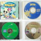 Lot 4 Children Kids CD SOFTWARE ELMO + ARTHUR + DISNEY & MORE Windows / Mac