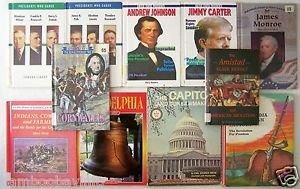 US HISTORY & BIOGRAPHY Books CHILDREN'S 11 BOOK LOT U.S. Historical Grade 4 5 6