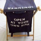 Folding LAUNDRY HAMPER Basket Clothes Storage Collapsible OPEN AT YOUR OWN RISK