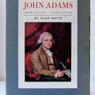 JOHN ADAMS Biography Vintage by PAGE SMITH BOX SET 2 Volumes 1963