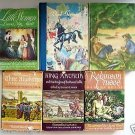 LOT 6 CHILDREN'S CLASSICS Grosset & Dunlap ILLUSTRATED HC Books Grades 3-5