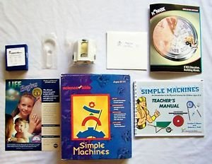 SIMPLE MACHINES Science for Kids CD INCLUDED Engineering Ages 8-14 Incomplete