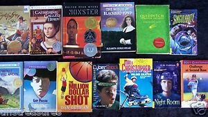 LOT 14 CHAPTER BOOKS Newbery & Others Gr 4-7 FICTION 9-12 years