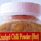 Thai CRUSHED CHILI POWDER 4x6.3 oz. NO Artificial Colors or Preservatives NO MSG