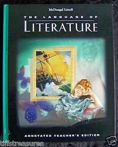 McDougal Littell THE LANGUAGE OF LITERATURE Annotated Teacher's Edition GRADE 6