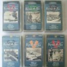 Lot of 6 VHS NAVAL WARFARE HISTORY series MANDALAY RABAUL MELANESIAN WAR VeryGD+