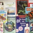 CHILDREN'S NATURE BOOKS Gr 4-5 BIOLOGY Natural Science EARTH Animals 10 BOOK LOT