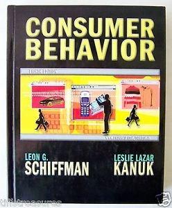CONSUMER BEHAVIOR Eighth Edition 8 by Schiffman & Kanuk HARDCOVR STUDENT Edition