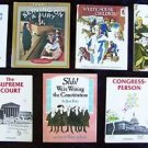 U.S. Government BOOKS US President Election Supreme Court Cabinet LOT 7 Gr. 3 4
