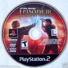Star Wars DVD ROM ~ EPISODE III Revenge of the Sith ~ for PlayStation 2