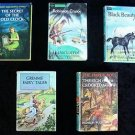 LOT 5 Grosset & Dunlap CLASSICS BOOK & MORE Robinson Crusoe Grimms 1949 to 1963