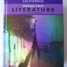 McDougal Littell LITERATURE British Literature Student Edition Hardcovr GRADE 12