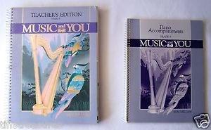 LOT 2 Macmillan MUSIC & YOU Teacher's Ed. TEXTBOOK + PIANO ACCOMPANIMENT Grade 8